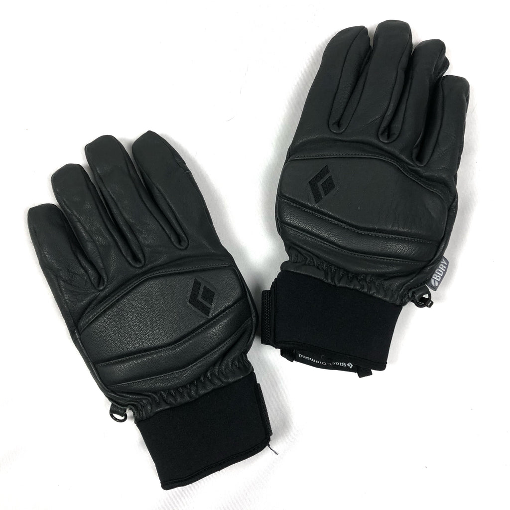 Black Diamond Leather Gloves