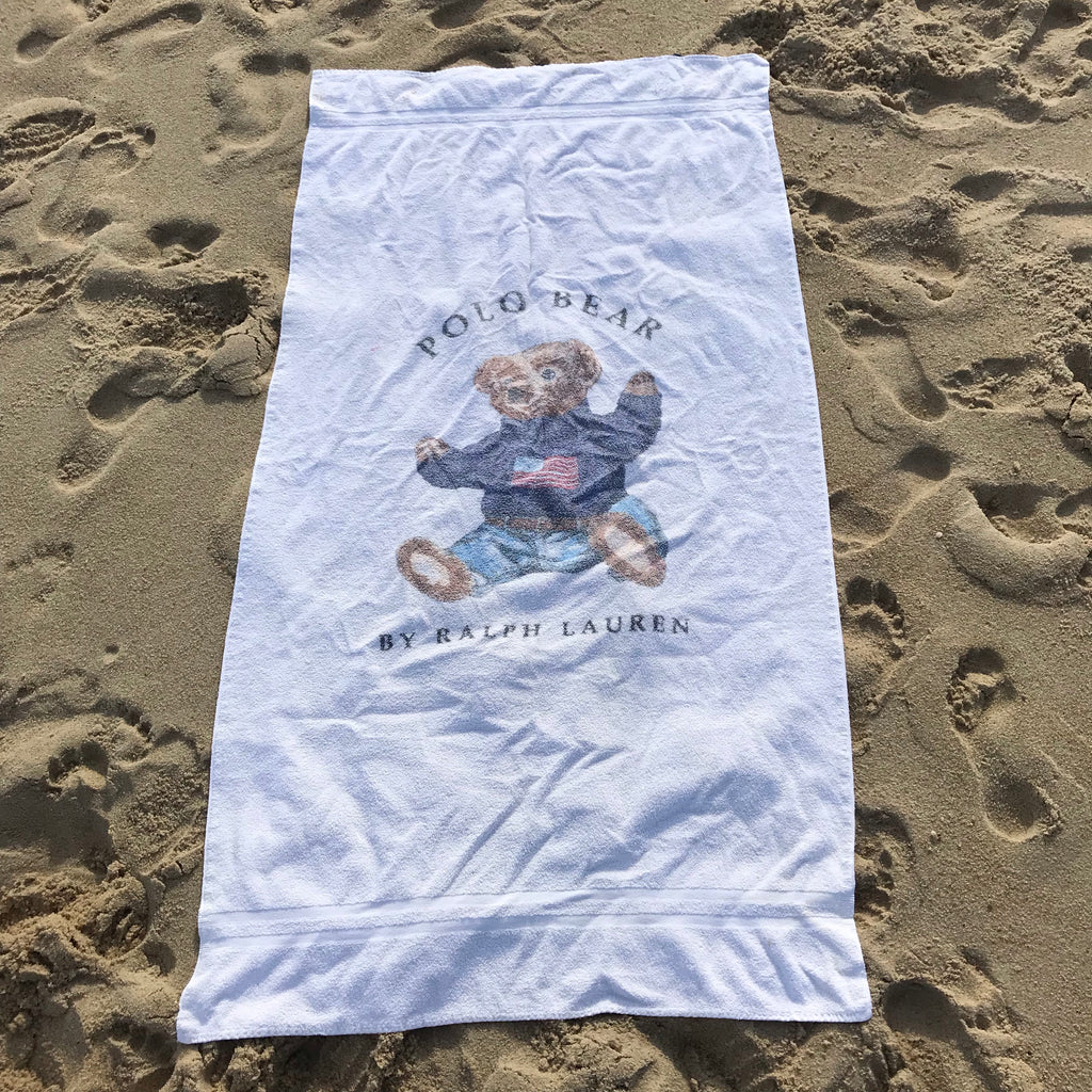 Polo sit bear towel