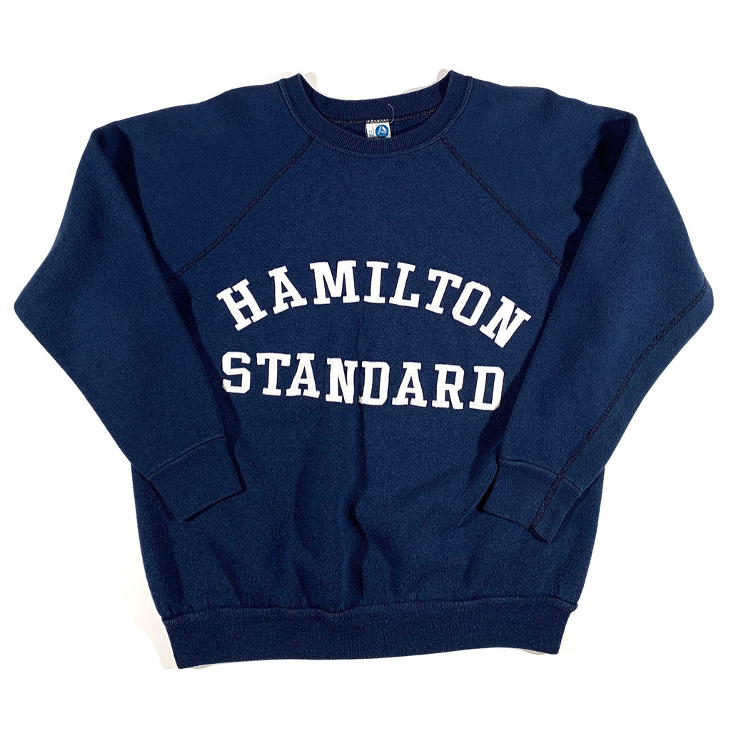 1970's Hamilton Standard crewneck. Made in USA. tagged XL, fits S/M.