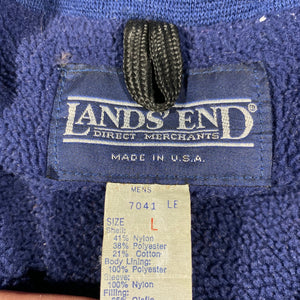 Lands end 1/2 zip jacket. Made in usa🇺🇸 large