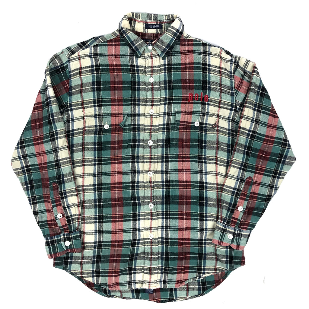 90s POLO Flannel