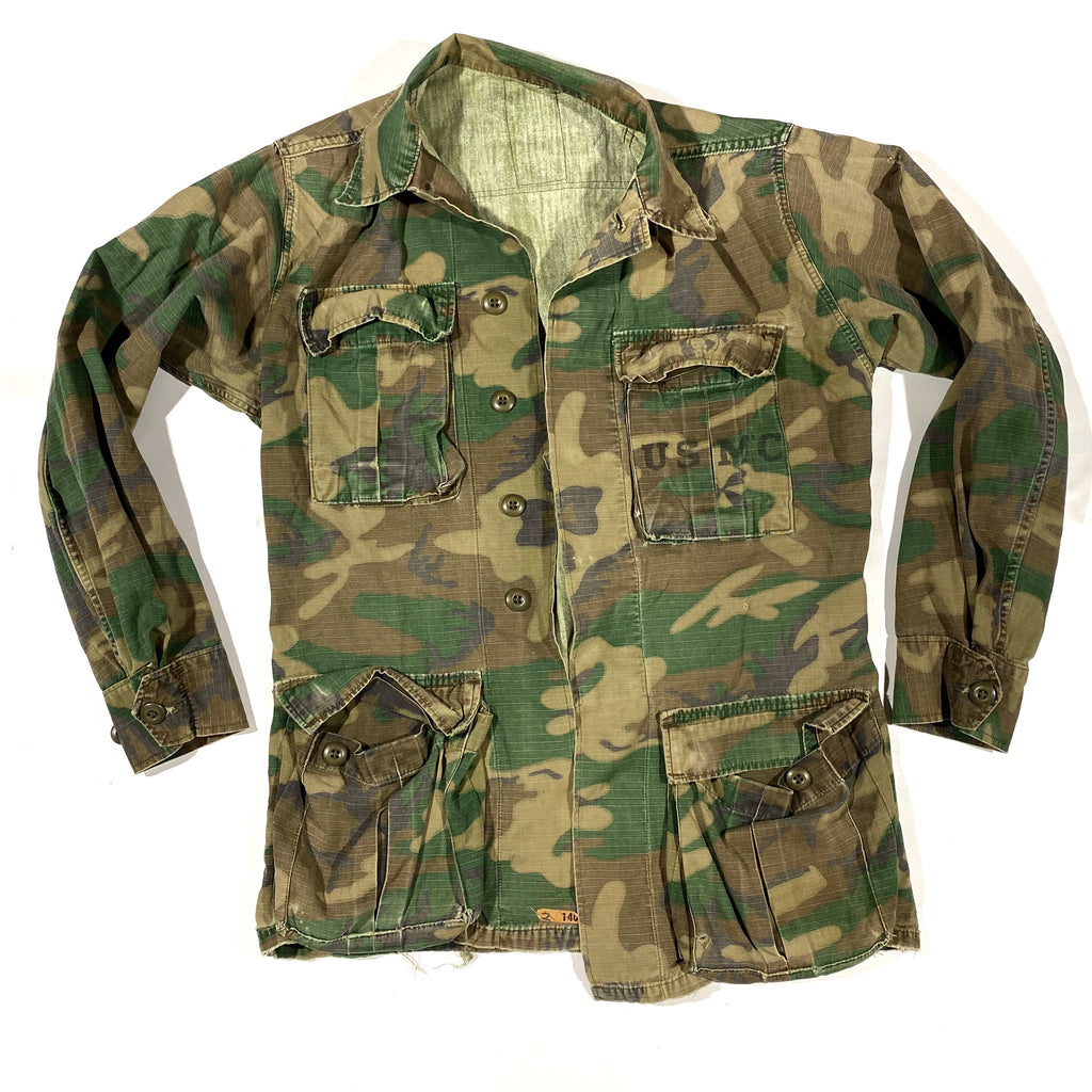 Washed soft USMC camo jacket. Small fit
