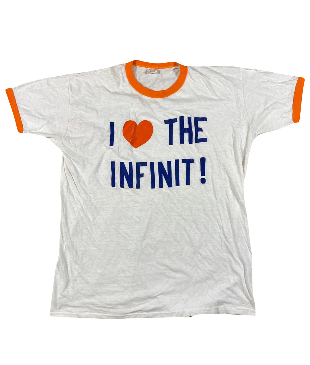 70s Infinit ringer tee. Large fit