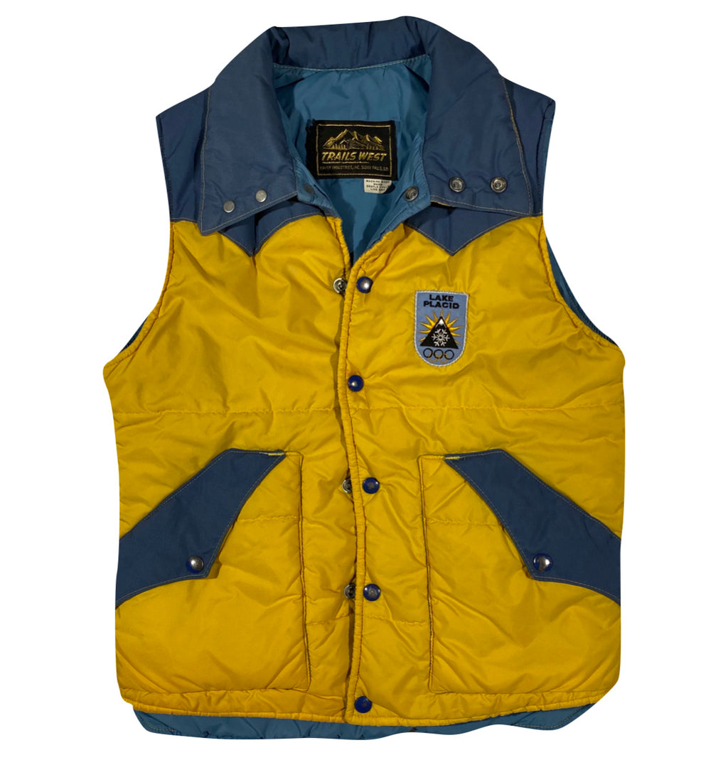 80s Lake placid vest. Small