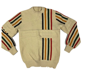 80's wool ski sweater. Small