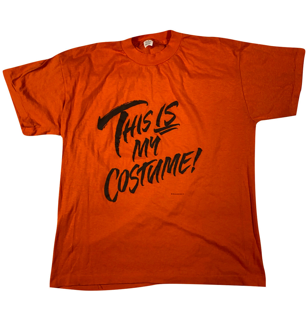 80s This is my costume halloween tee large fit