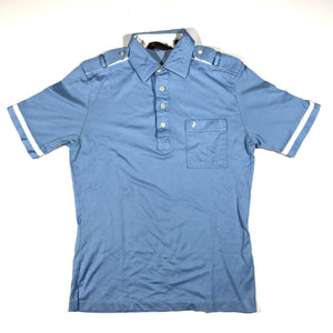 80s polo baby blue S/M