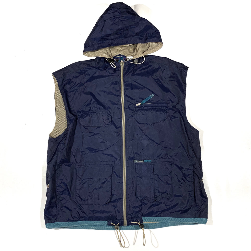 Hooded cargo tech vest XL