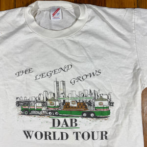 90s Dab world tour tee. twin towers large