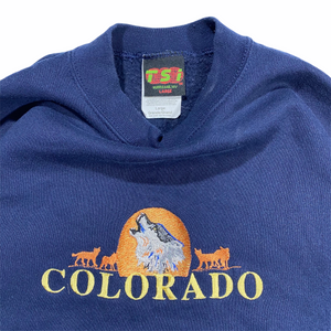 90s Colorado embroidered sweatshirt. M/L