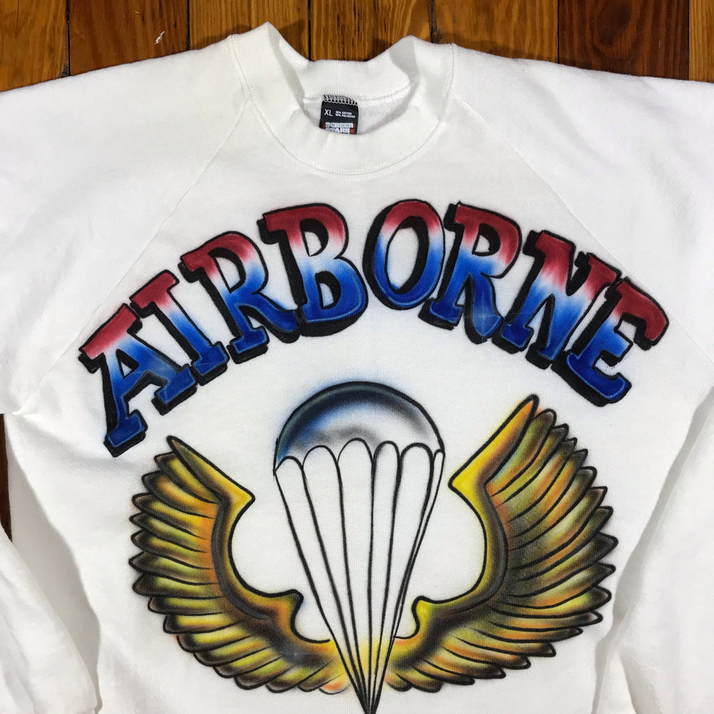 80s Airborne sweatshirt. large fit