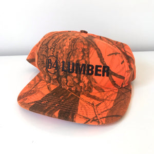 84 lumber snapback. made in usa.
