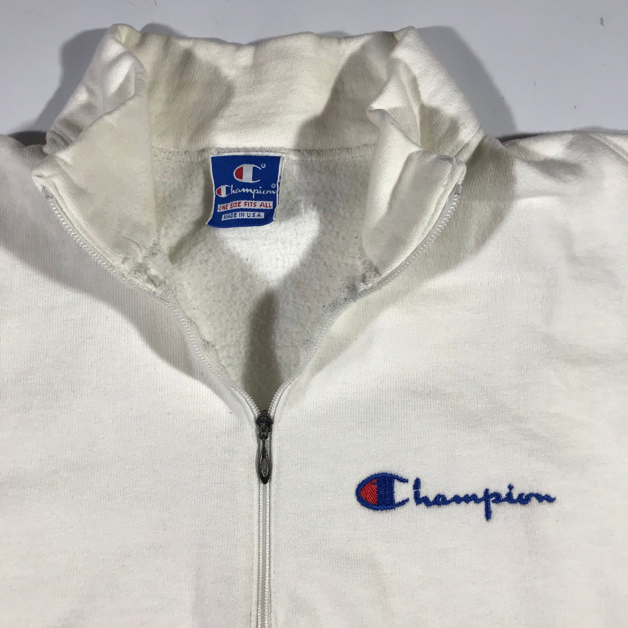 80s Champion 1/4 zip. medium fit