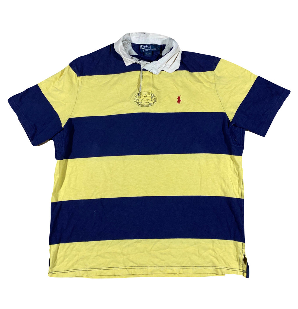 Polo ralph lauren short sleeve rugby. large