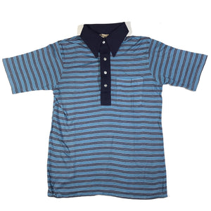 80s striped polo. S/M