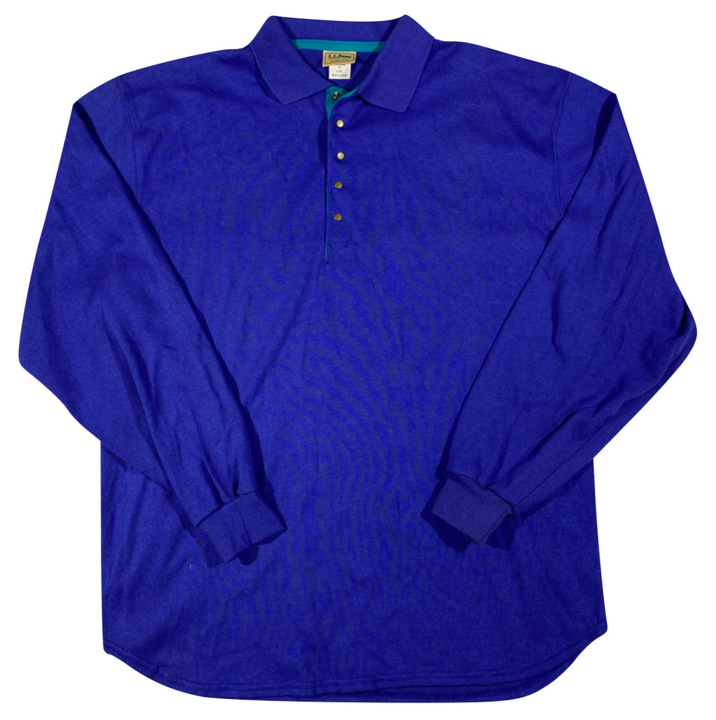 90s LL Bean polo shirt XL