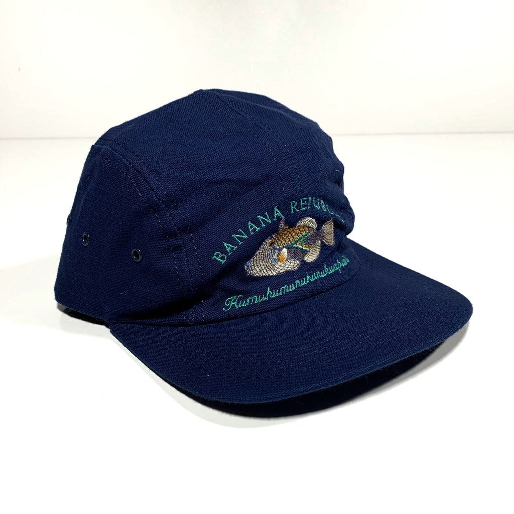 1990's Banana Republic hat. Made in USA. S/M.