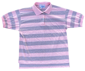 80s Striped polo. S/M fit