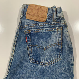 1990's Levi's 505. Made in USA. women's 9 (24x29).