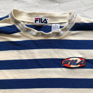 Fila striped shirt. L/XL
