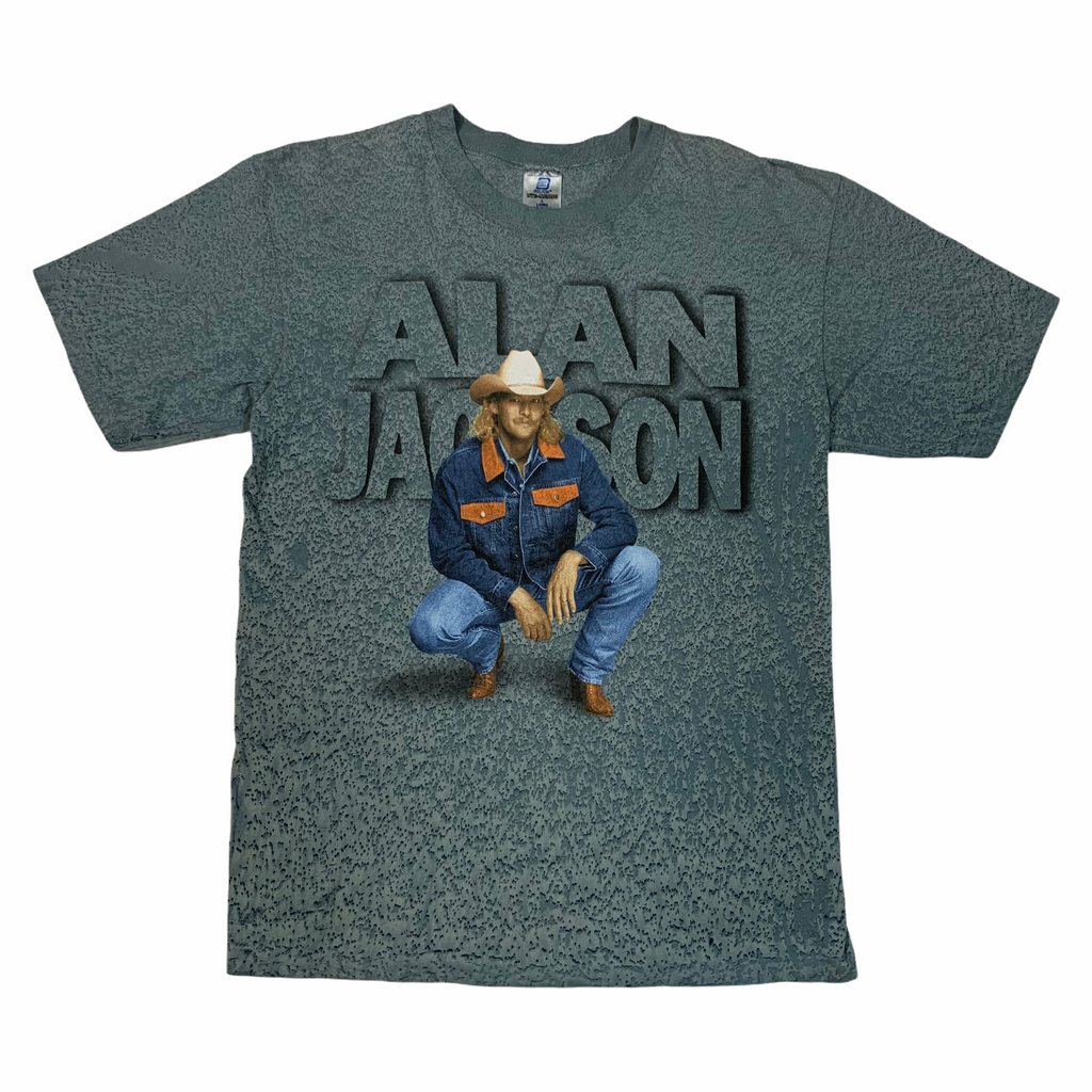 1990's Alan Jackson tee. Made in USA. L (20.5x29).