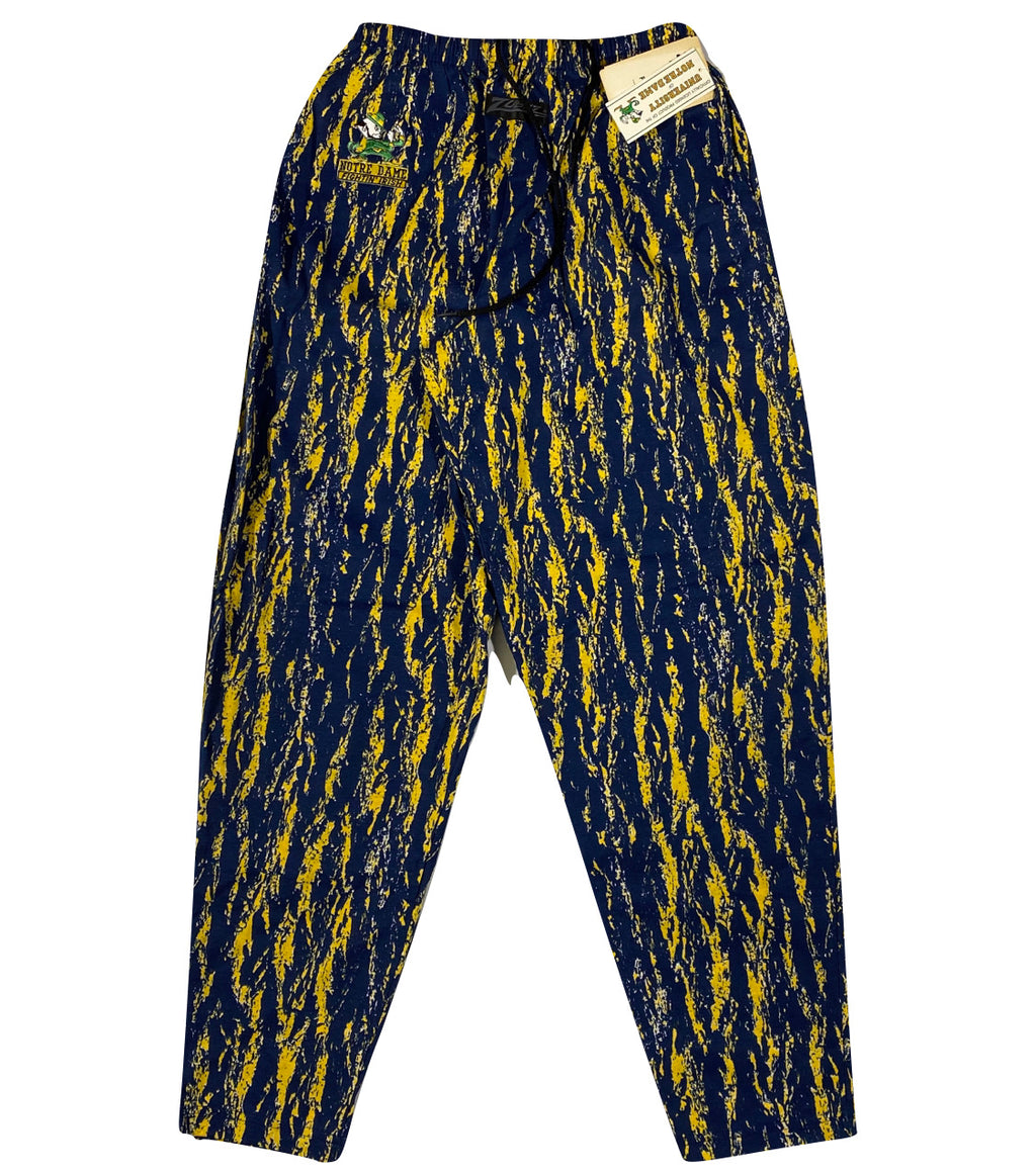90s Notre dame zubaz pants Made in usa🇺🇸 Medium