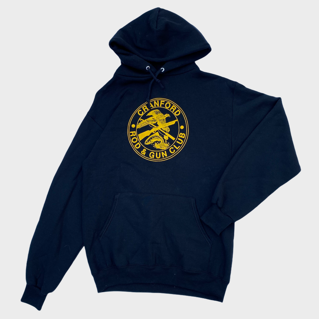 80s Cranford rod and gun club hoodie. S/M