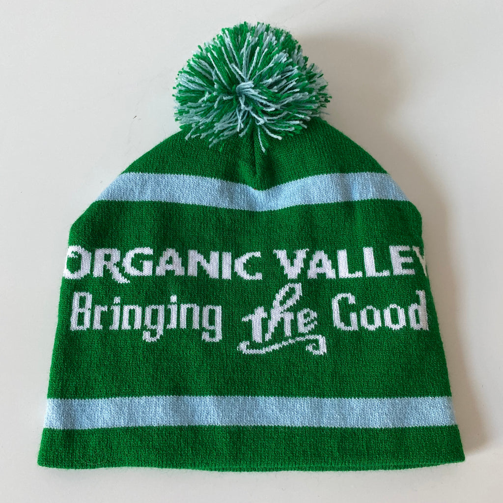 Organic valley beanie. Made in usa🇺🇸