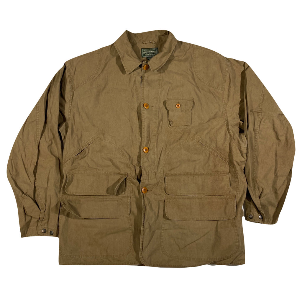 Polo country hunting jacket. XL