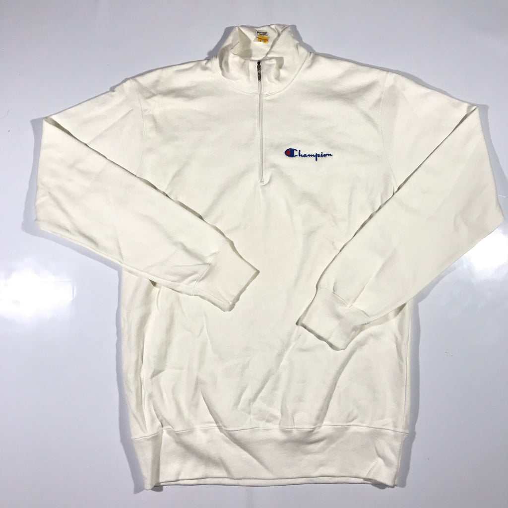 80s Champion 1/4 zip sweatshirt. XL