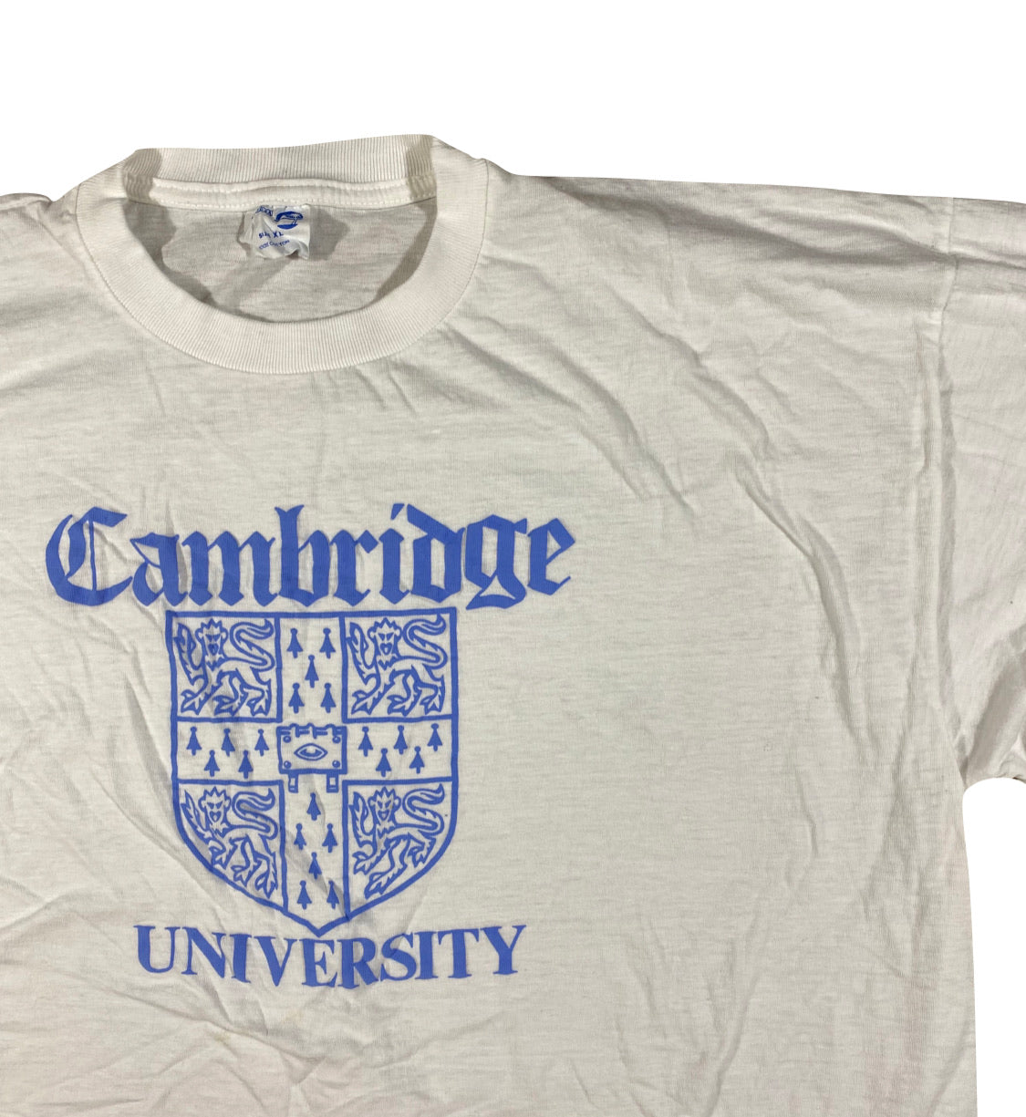 Cambridge university tee. XL