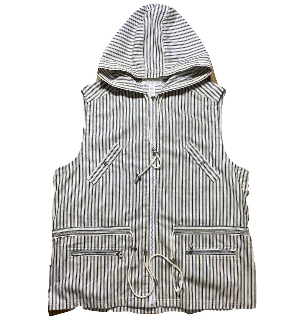 90s Hooded vest L/XL
