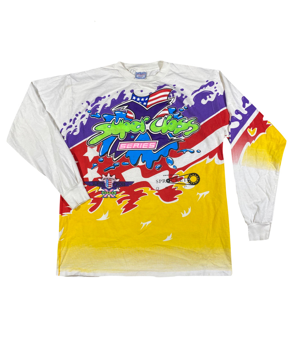 90s Super cross longsleeve. XL
