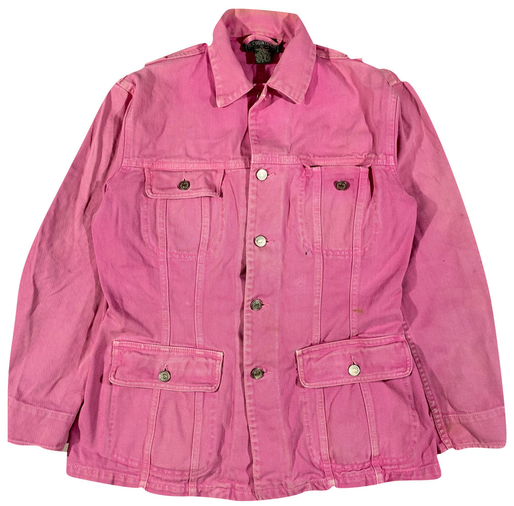 Polo country denim jacket women's S/M