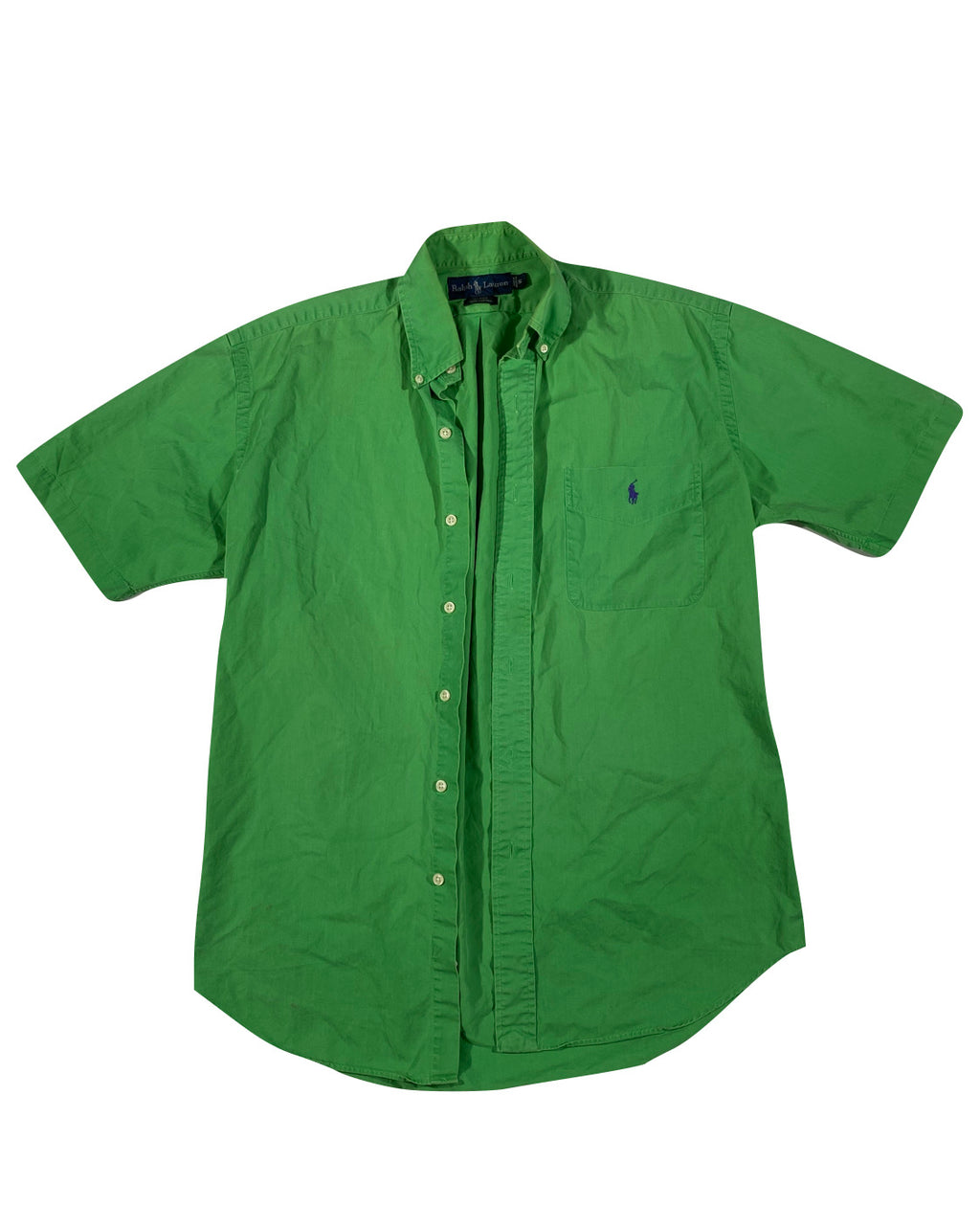 Polo ralph lauren shirt sleeve button down shirt. Small
