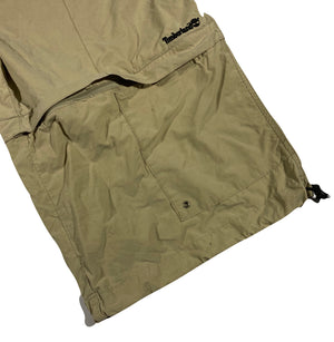 Timberland long shorts zip to regular shorts. XL