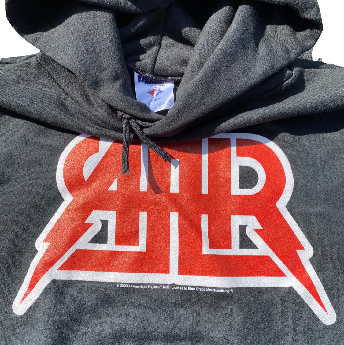ALL AMERICAN REJECTS hoodie. Small