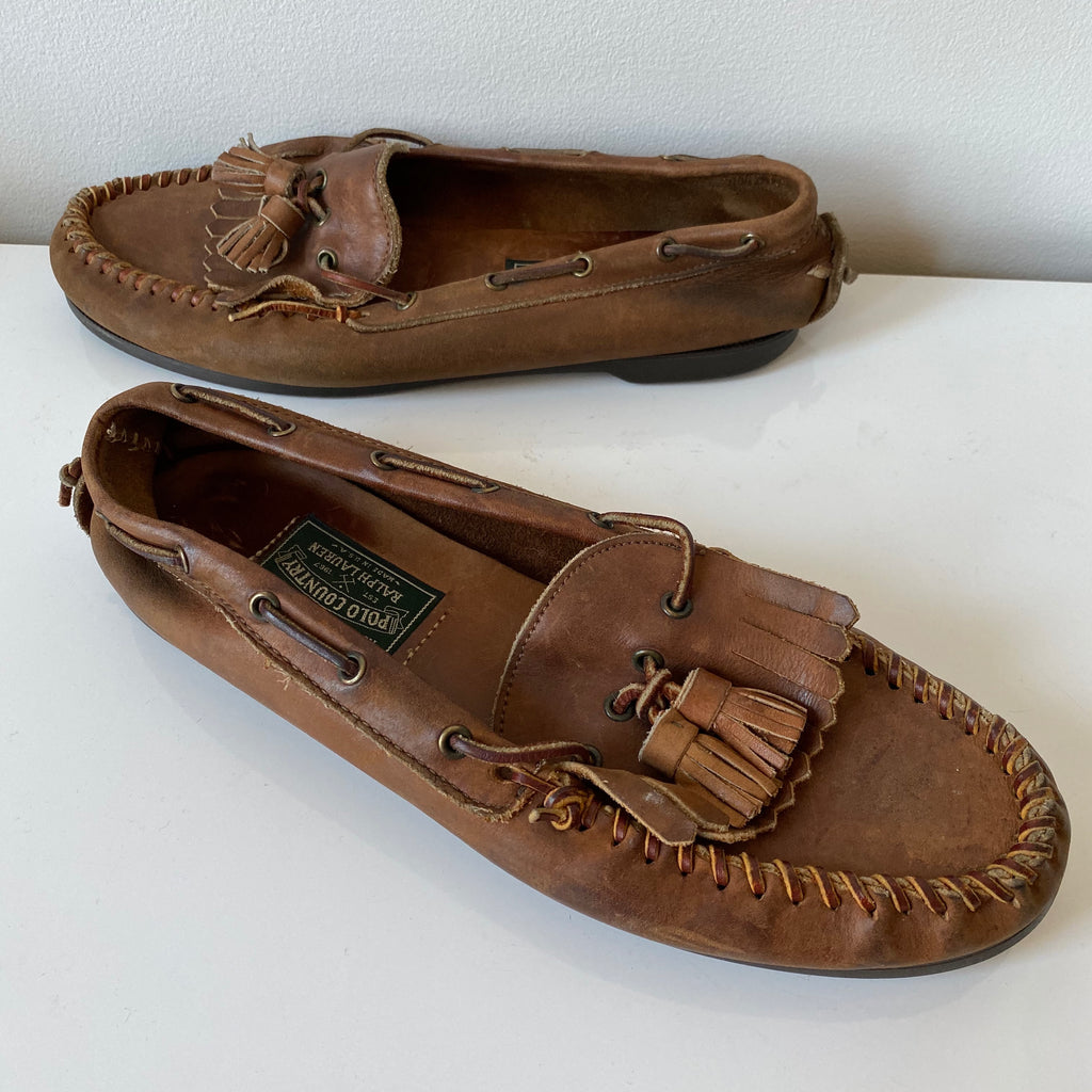 Polo country loafers Made in usa🇺🇸 sz 10.5