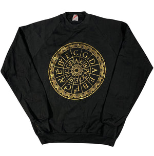 "90s ""the circle of fifths"" sweatshirt large"