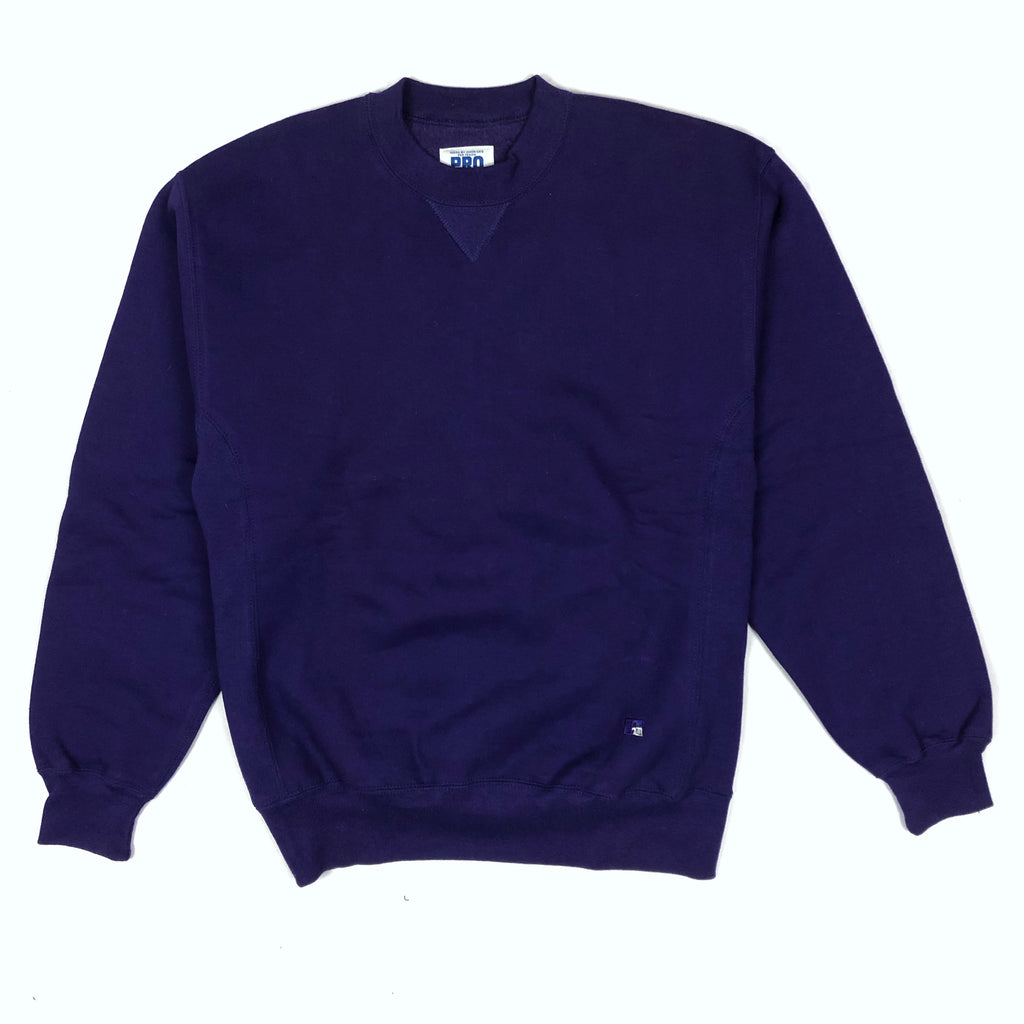 90s Blank Heavyweight Crewneck Purple
