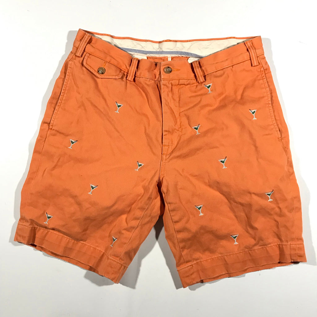 Polo ralph lauren matini glass shorts. sz33