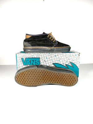 1990's Vans Chukka Boot. Made in USA. 8.