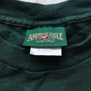 90s American eagle gold tee. XL