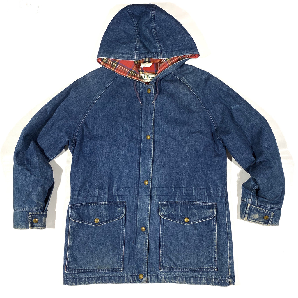 LL Bean denim jacket Small