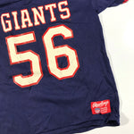 Rawlings giants shirt jersey. medium