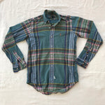 90s Polo ralph lauren plaid. made in usa. Small