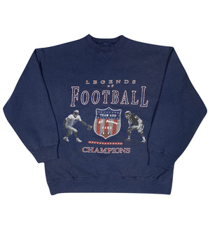 90s American eagle football sweatshirt. large