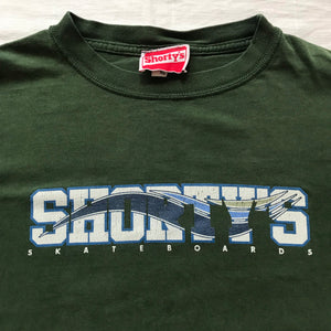 Shortys wave logo tee. XL