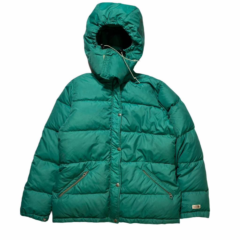 80s North face hood down jacket. wmns medium