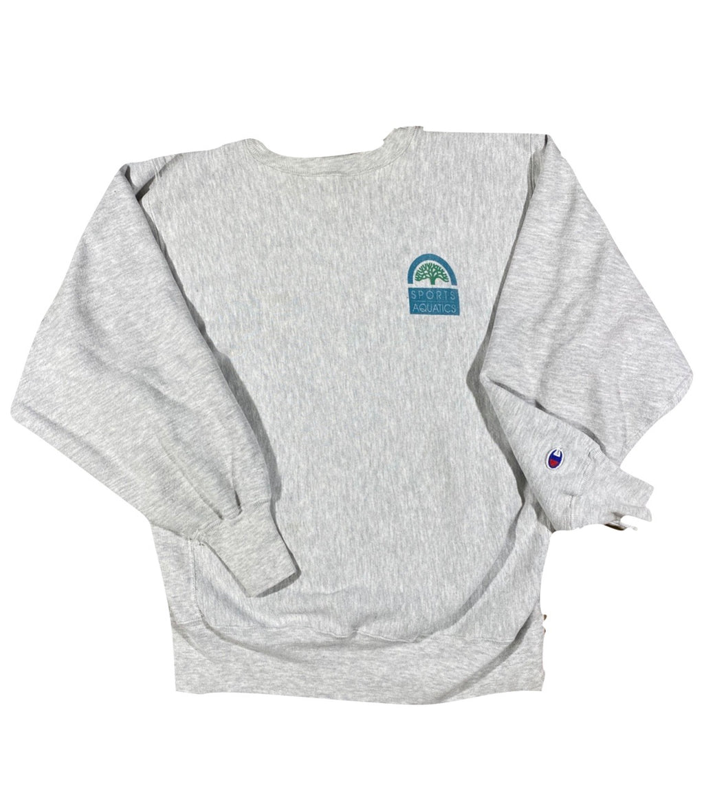 90s City of oakland sports aquatics lifeguard reverse weave sweatshirt. medium fit